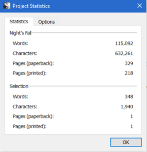 finished wordcount